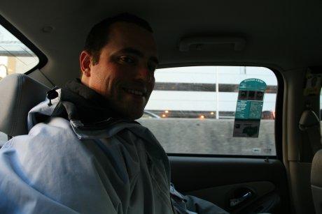Alex dans le taxi Montreal