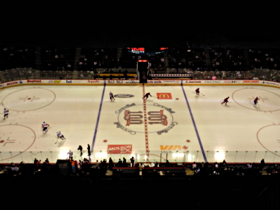 centre bell canadiens/buffalo